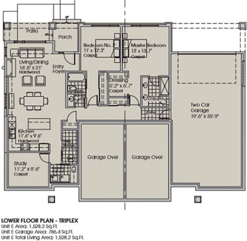 Floor Plans The Villas Kamloops Bc